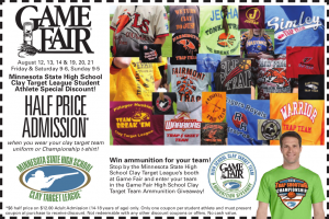 2016 Game Fair Coupon